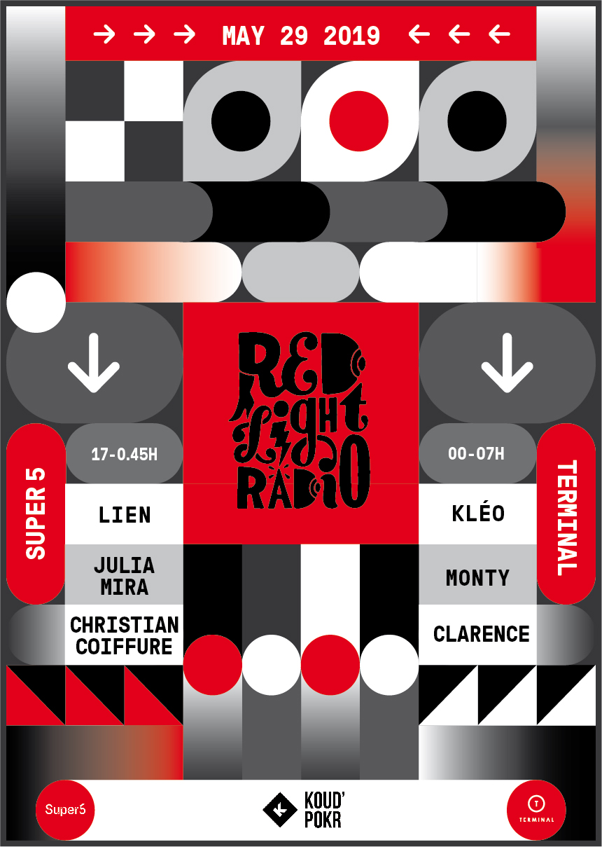 Philipp Carbotta Red Light Radio Poster